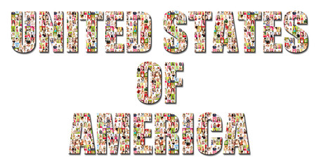 a lot of people portraits - UNITED STATES OF AMERICA