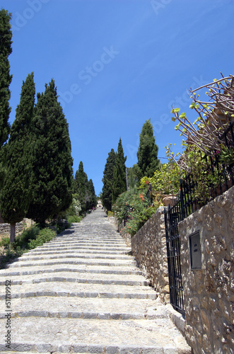Steps at Pollensa vert