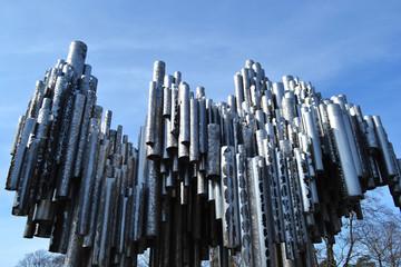 Sibelius monument in Helsinki