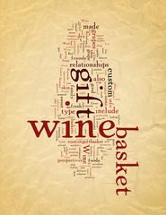 Wine Gift basket Revitalizing relationships