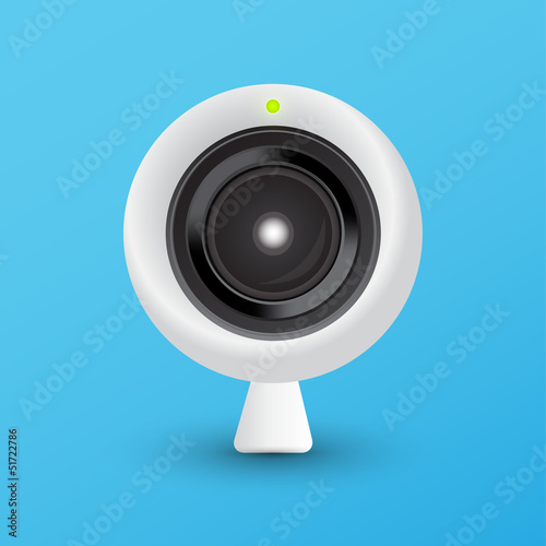 Webcam vector illustration