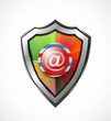 Email protection icon / shield
