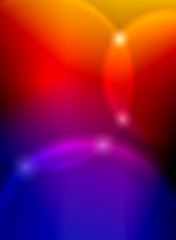 Light spots on colorful background