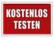 Glassy Button rot KOSTENLOS TESTEN