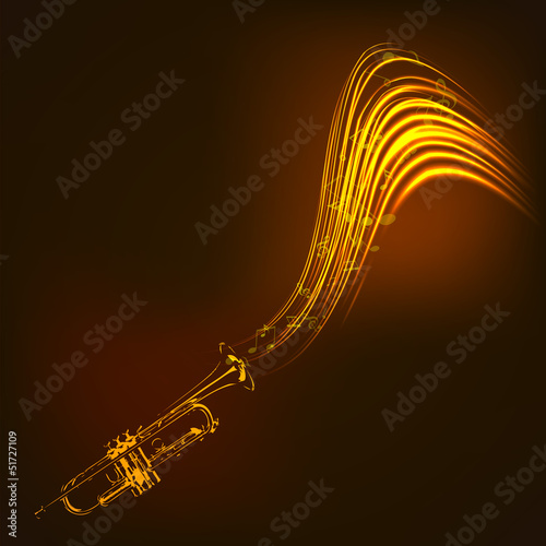 Music concept with Saxophone. EPS 10.