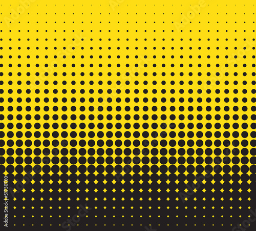 abstract background with halftone, vector for design