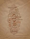 CD Terminology poster