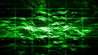Abstract high-tech green display (seamless loop)