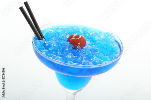 cocktail colorato blue curacao