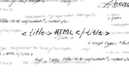 HTML code loop with alpha matte