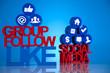 Social media, communication