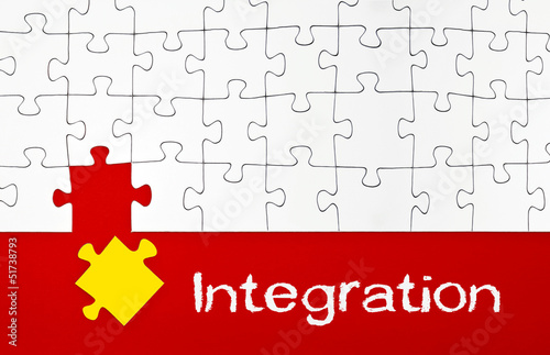 Puzzle mit Integration