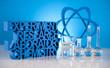 Molecular Model,atom, Laboratory glass