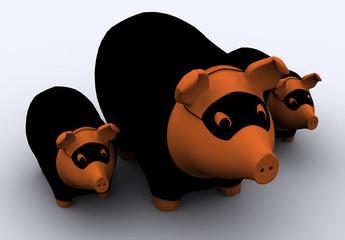 Räuberschweine