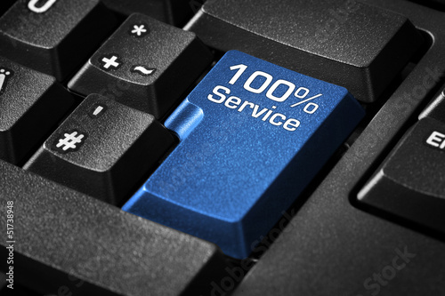 Tastatur mit 100% Service