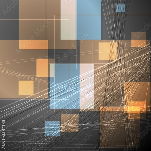 Abstract concept vector template