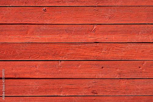 Staande foto Scandinavië Old red wood panels