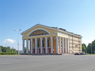 Petrozavodsk. Musical theater and Russian drama theater of the R