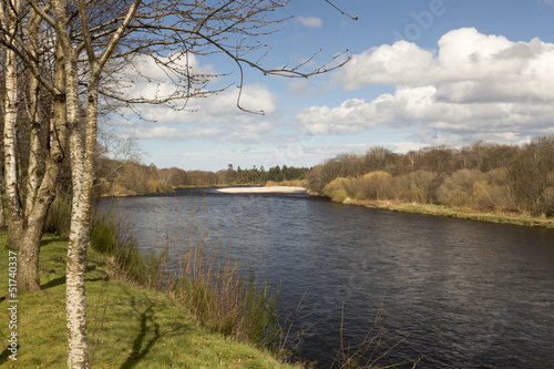 River Spey At Fochabers