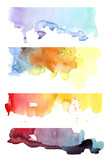Fototapety background watercolor 7