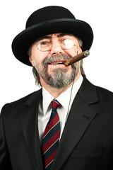 portrait of billionaire