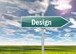 """Highway Signpost """"Design"""""""
