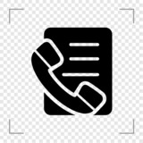 Call list Icon
