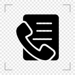 Call List Icon
