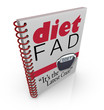 Diet Fad Book Dieting Craze Be...