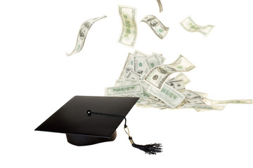 Education helps to make money. Money will hear and to cap off th