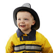 Happy Little Fireman