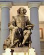 Madrid - Velesquez statue for Museo nacional del prado
