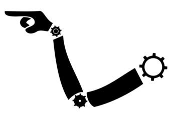 Arm machine point