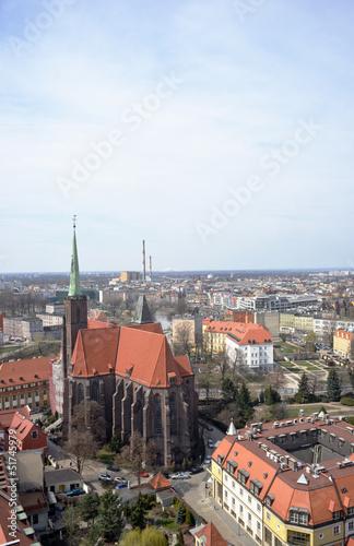 Kathedrale von Breslau Panorama © Sinuswelle