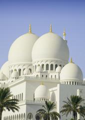 Sheikh Zayed Mosque in Abu Dhabi city, UAE