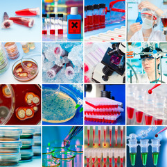 Laboratory Collage