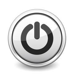 button gray power