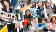 Montage of Successful Business Women