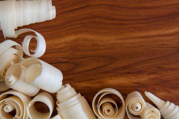 Holzspäne mit Zwetschke