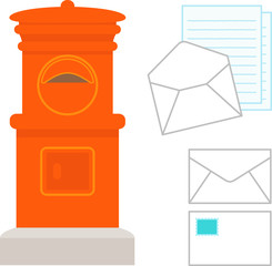 手紙とポスト
