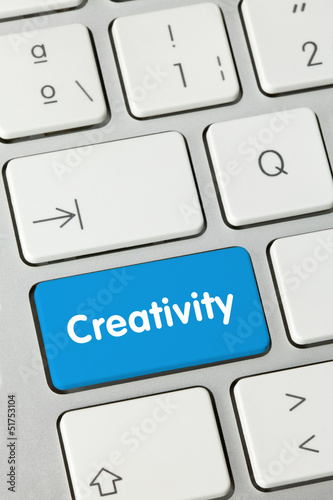 Creativity keyboard key