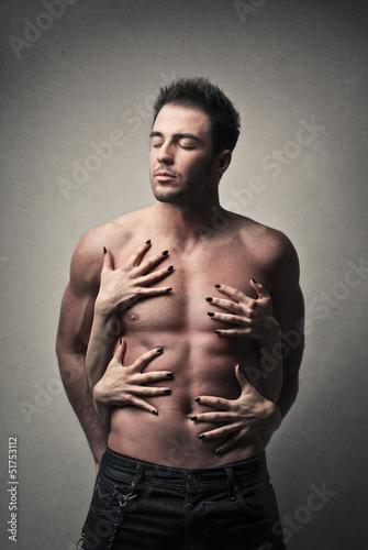 Fototapeten,hand,mann,nackt,sexy