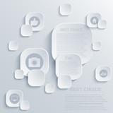 Vector infographic background design. Eps10