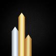 Arrows of precious metals