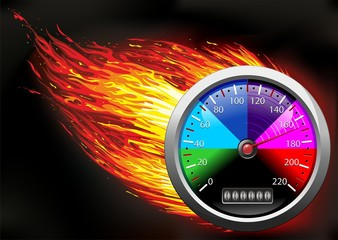 Odometer on Fire-Contachilometri in Fiamme