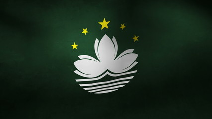 Macau country flag
