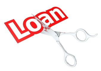 Cut loan