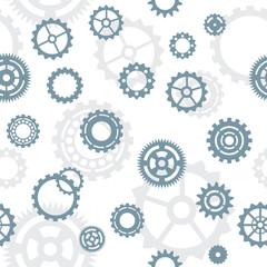 seamless pattern, tiles: gears