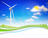 Fototapety Wind Energy Turbine