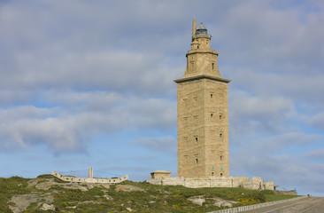 Hercules tower, La Coruña, Galicia, Spain, UNESCO's World Herit